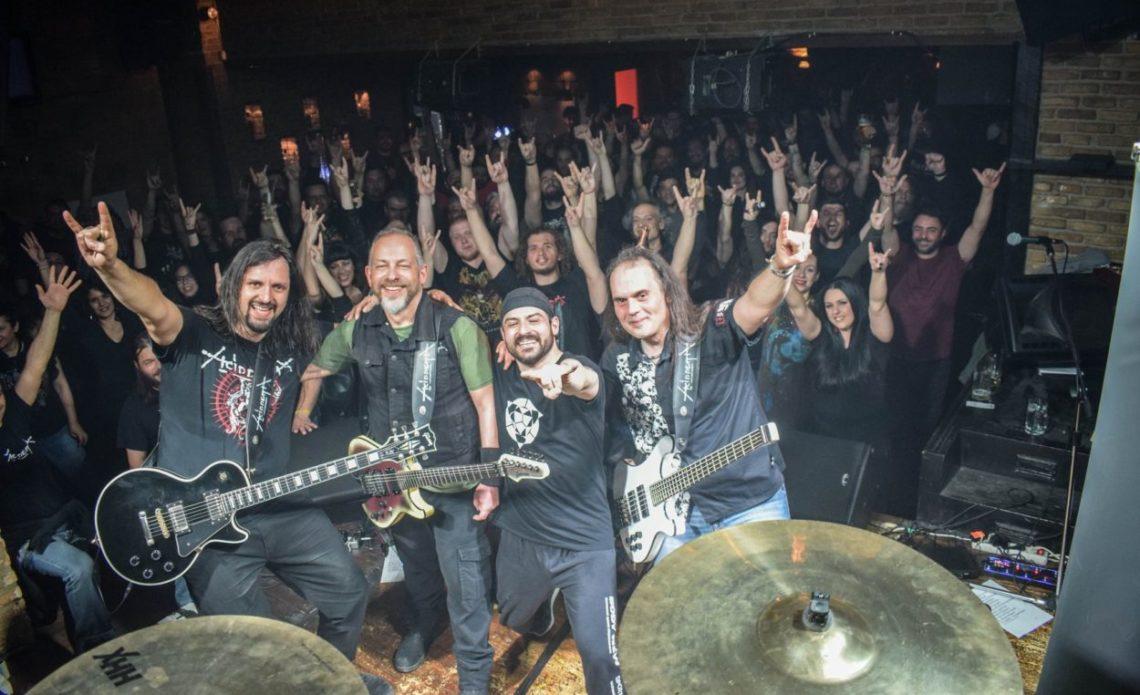 Οι θρυλικοί Acid Death γιορτάζουν τα 30 χρόνια τους ζωντανά στο Temple - Roxx.gr