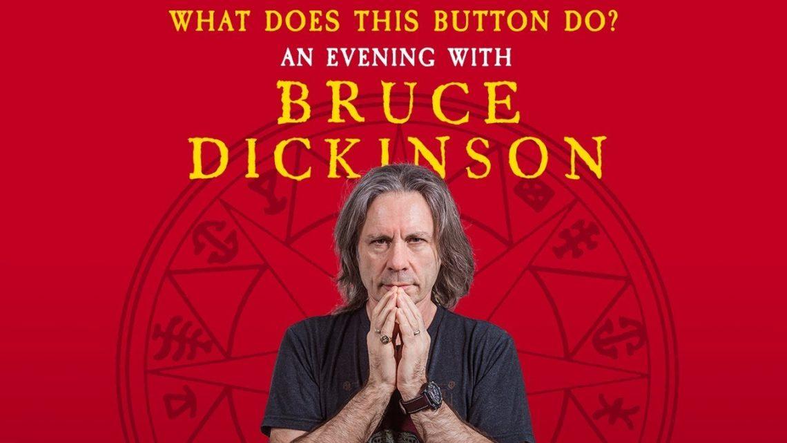 Όλες οι τελευταίες λεπτομέρειες για την εμφάνιση του Bruce Dickinson στην Αθήνα - Roxx.gr
