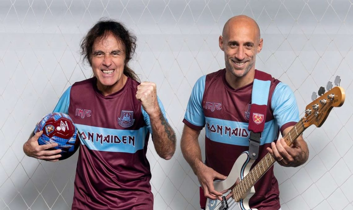 Φανέλα Iron Maiden έβγαλε η West Ham! - Roxx.gr