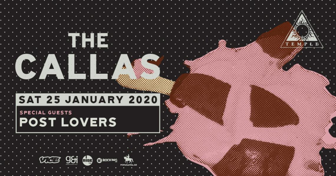 Οι The Callas επιστρέφουν στο Ναό και παρουσιάζουν το νέο τους album - Roxx.gr