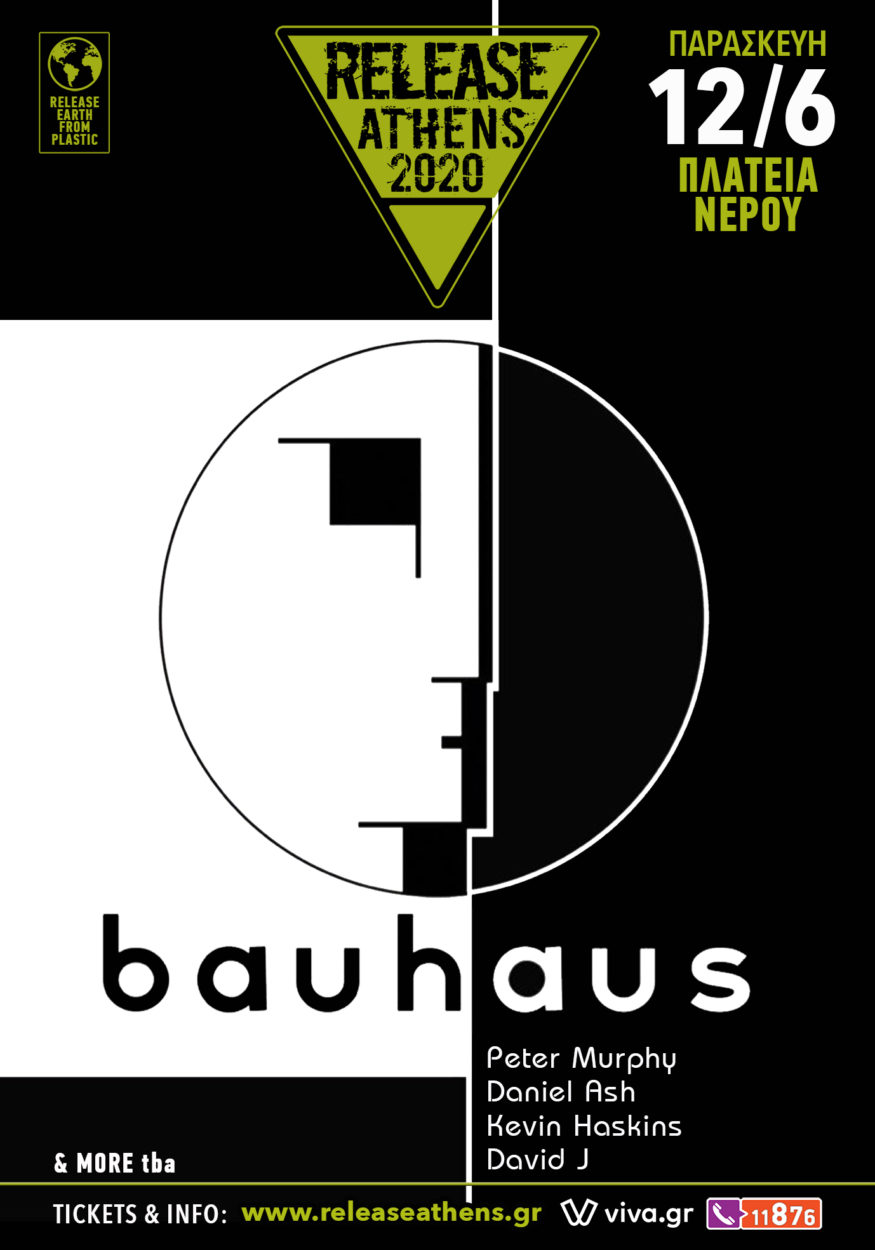 Bauhaus Release Athens