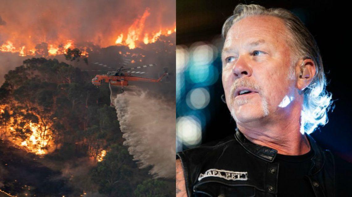Metallica: 500.000 δολάρια στους πληγέντες από τις φωτιές στην Αυστραλία - Roxx.gr