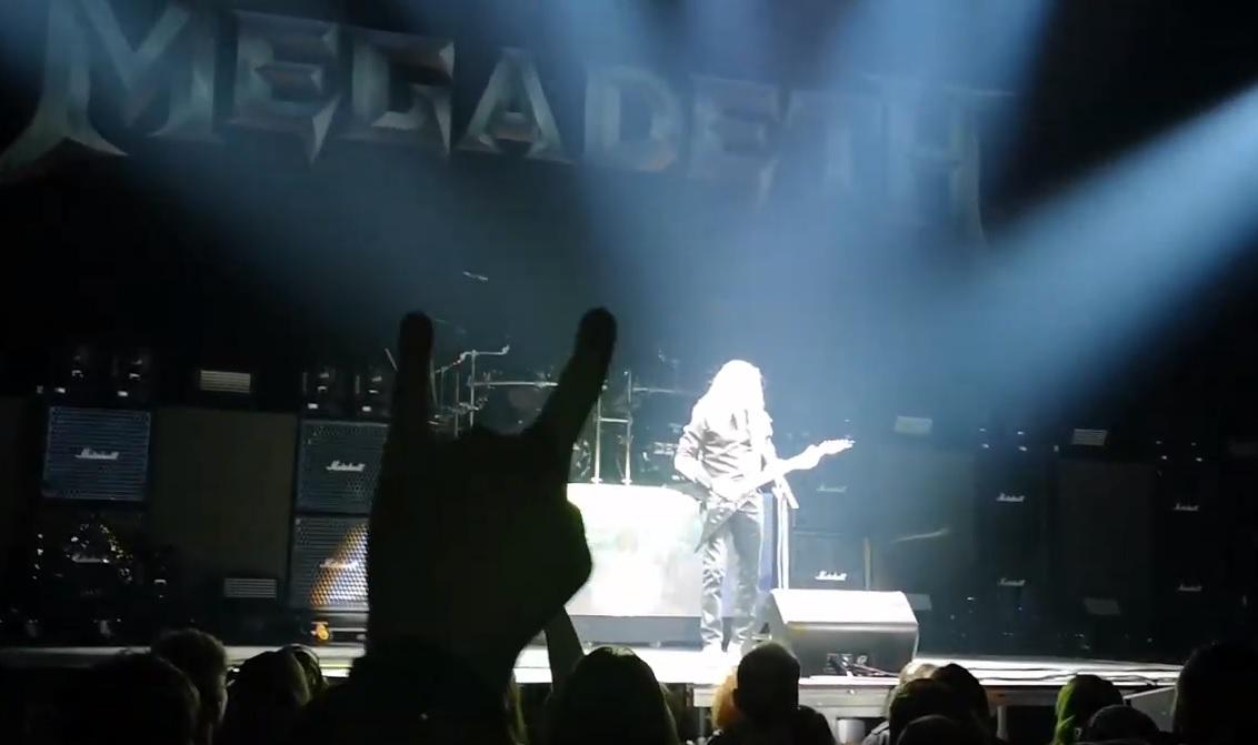 Οι Megadeth επέστρεψαν στη σκηνή μετά από 15 μήνες - Roxx.gr