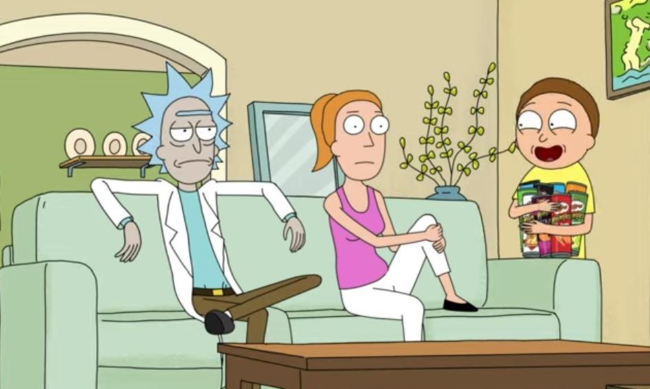 Rick και Morty διαφημίζουν πατατάκια για το Super Bowl - Roxx.gr