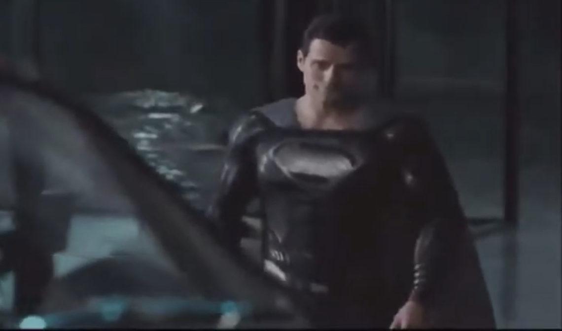 O Superman με τη μαύρη στολή στο νέο κλιπ από το Snyder Cut της Justice League - Roxx.gr