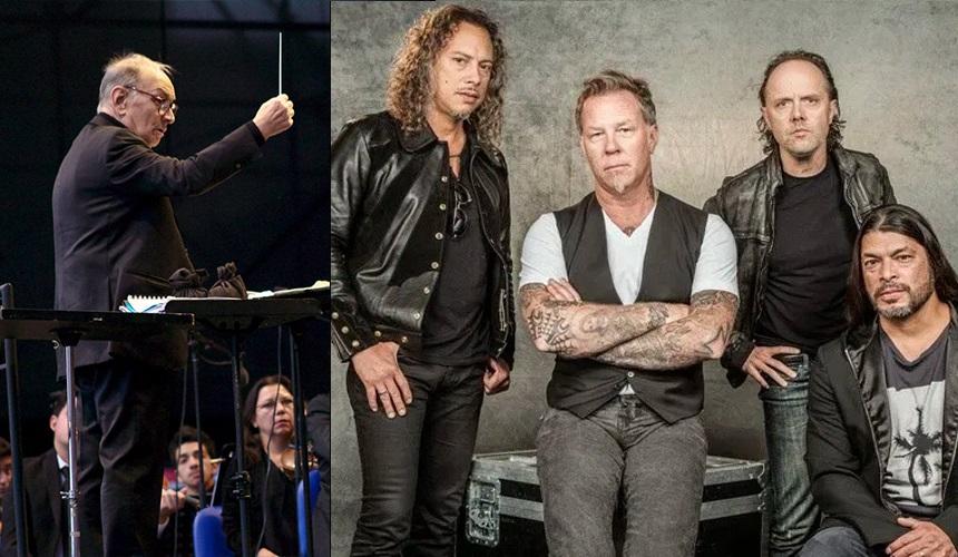 Το αντίο των Metallica στον Ένιο Μορικόνε - Roxx.gr