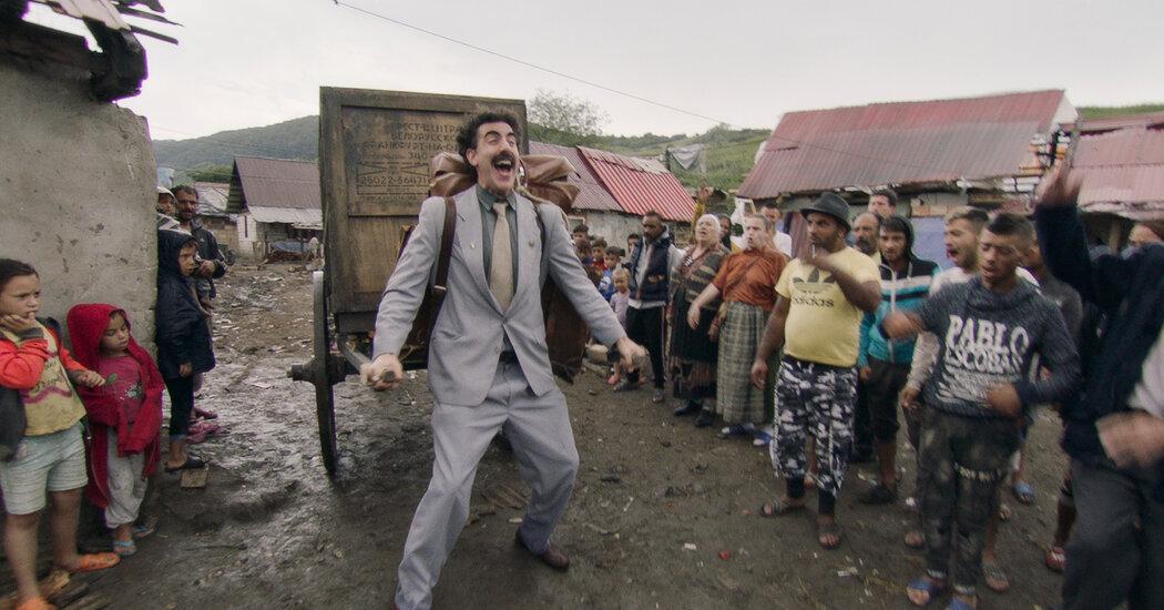 Αυτή είναι η κομμένη σκηνή από το Borat που κινδύνευσε η ζωή του! - Roxx.gr