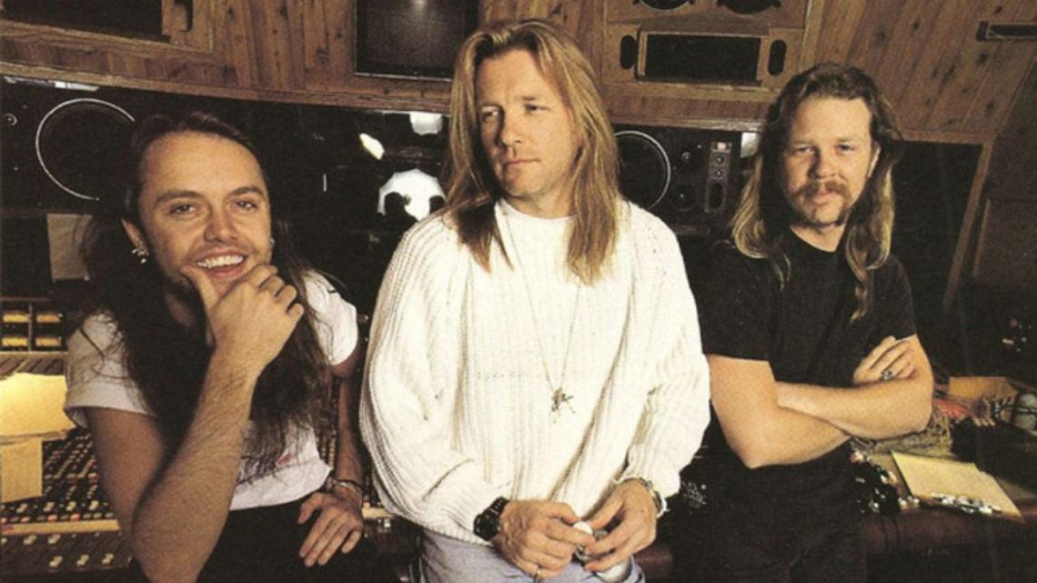 O Bob Rock πούλησε τα δικαιώματα του για το Black Album των Metallica - Roxx.gr