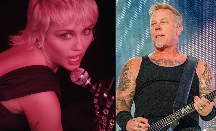 H Miley Cyrus ηχογράφησε διασκευή στο Nothing Else Matters των Metallica με τον Elton John - Roxx.gr
