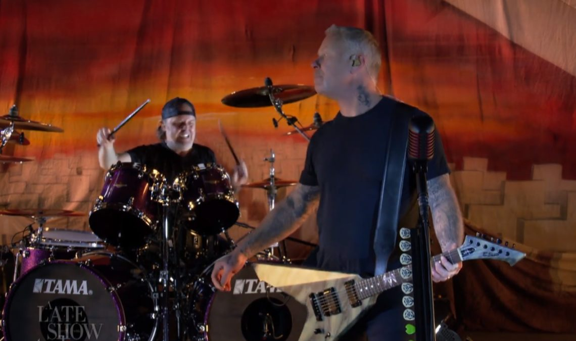 Metallica: Σε φανταστική φόρμα έπαιξαν το Battery στην εκπομπή του Stephen Colbert - Roxx.gr