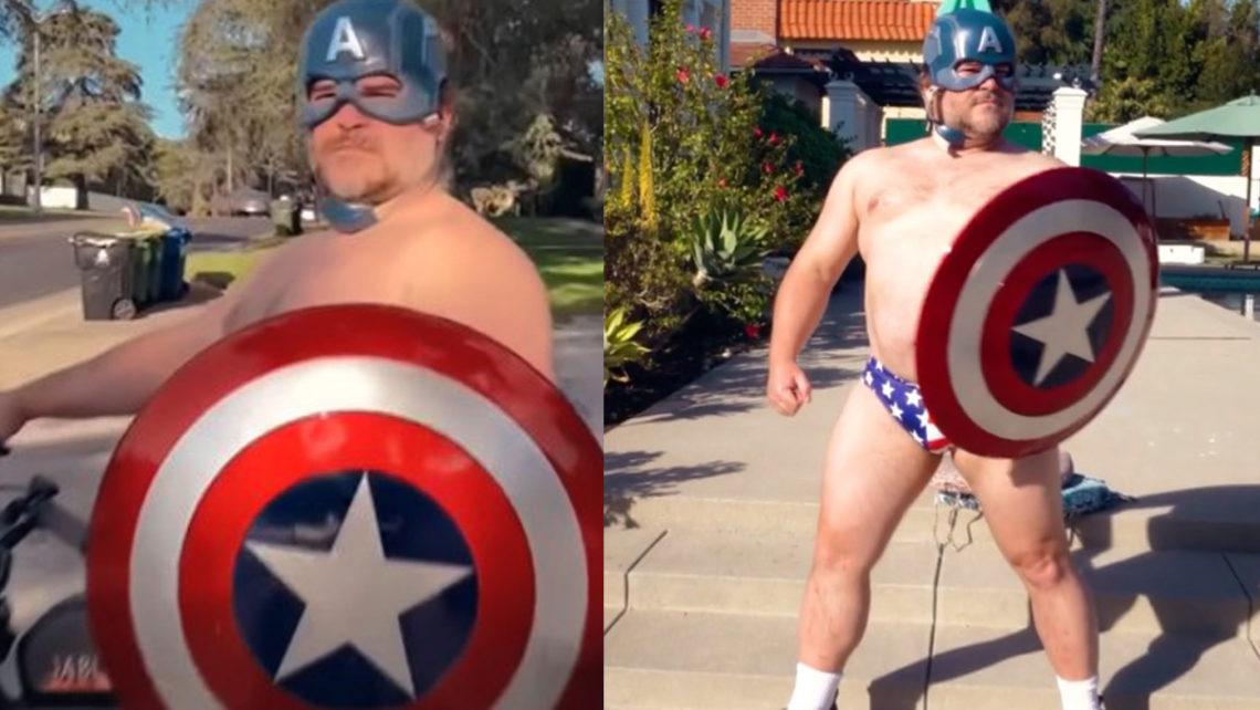 Ο… ξεβράκωτος Jack Black είναι ένας απολαυστικός Captain America - Roxx.gr