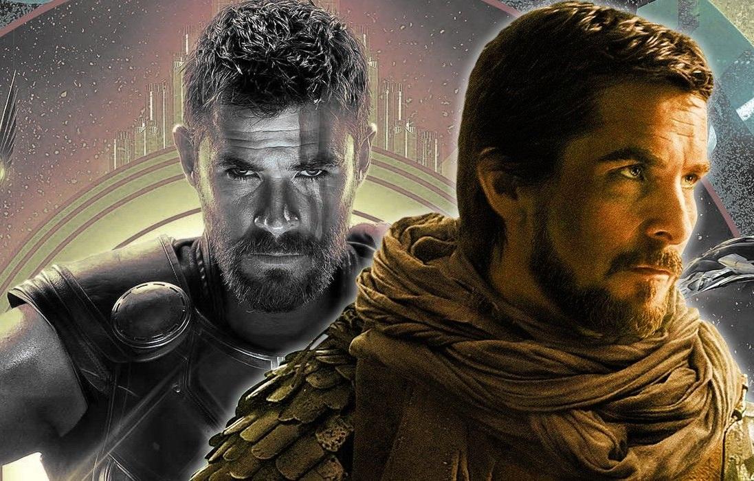 Οι πρώτες εικόνες του Κρίστιαν Μπέιλ από τα γυρίσματα του Thor - Roxx.gr