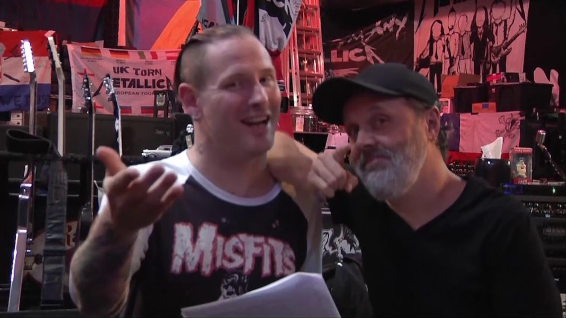 Corey Taylor: «Ο Lars Ulrich είχε δίκιο για το Napster» - Roxx.gr