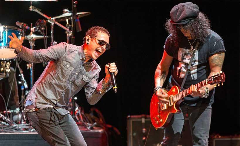 Ακούστε το ακυκλοφόρητο τραγούδι του Slash με τον Chester Bennington - Roxx.gr