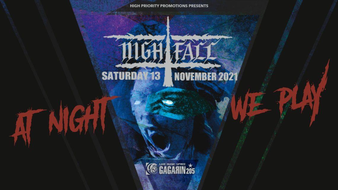 Οι Nightfall στο Gagarin στις 13 Νοεμβρίου - Roxx.gr
