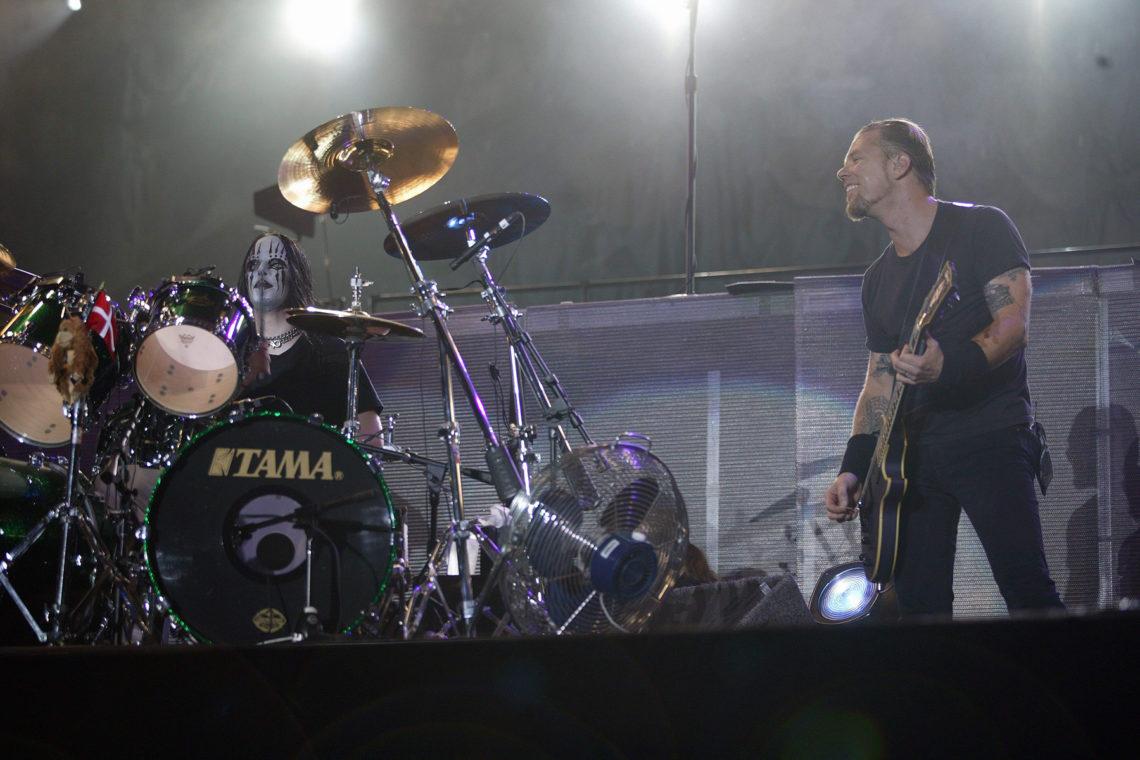 Μελος των Metallica για μία βραδιά: Όταν ο Joey Jordison αντικατέστησε τον Lars Ulrich - Roxx.gr