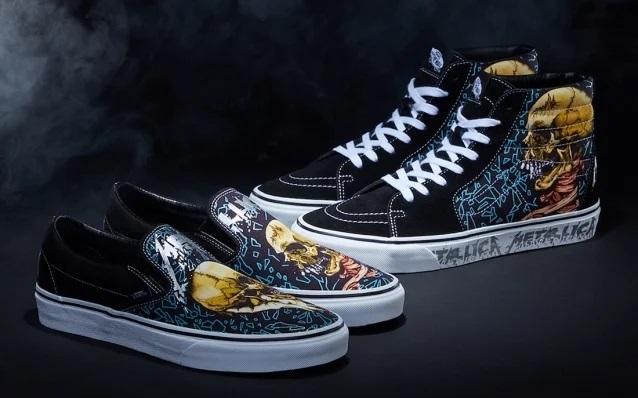 Νέα παπούτσια Vans για την επέτειο του Black Album κυκλοφορούν οι Metallica - Roxx.gr