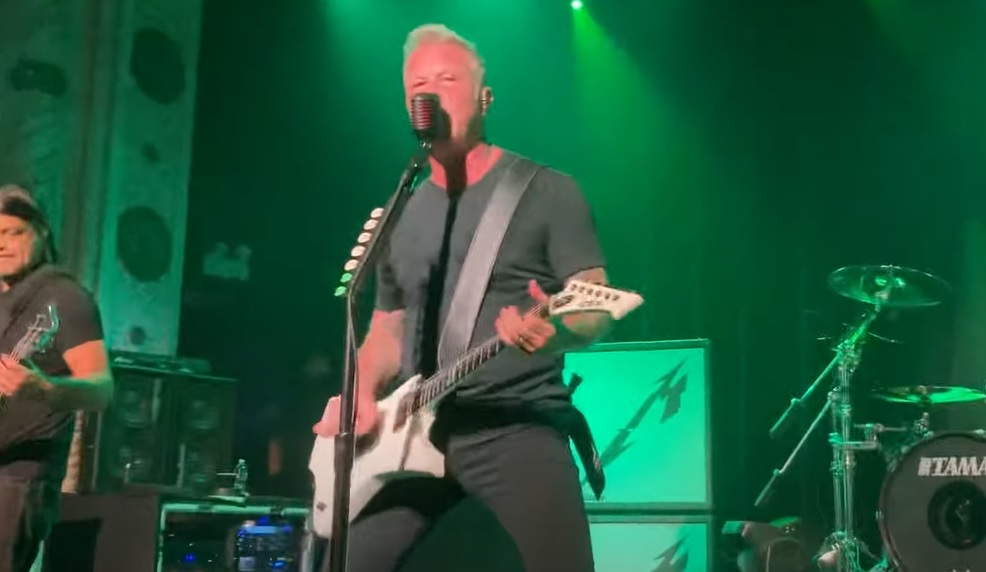 Οι Metallica επέστρεψαν μετά από 38 χρόνια στο θρυλικό κλαμπ του Cliff em' All - Roxx.gr